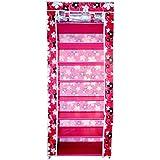Sterling Portable 8-Layers Fabric 7-Grid Multi-Utility Shoe Rack Organizer (60 cm x 30 cm x 145 cm) Color as per Availability