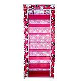 #8: Sterling Portable 8-Layers Fabric 7-Grid Multi-Utility Shoe Rack Organizer (60 cm x 30 cm x 145 cm) Color as per Availability