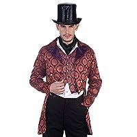 ThePirateDressing Steampunk Victorian Gothic Punk Vampire Gentlemen Coat Costume C1280 [Small]