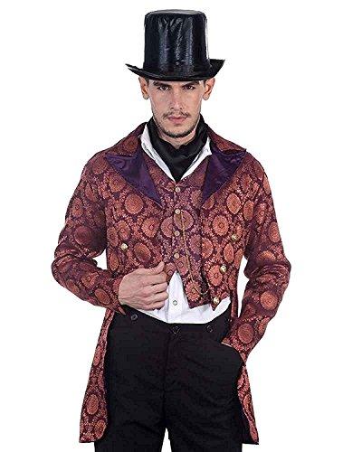 ThePirateDressing Steampunk Victorian Gothic Punk Vampire Gentlemen Coat Costume C1280 [Medium] steampunk buy now online