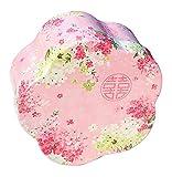 Koala Superstore Kreativer dekorativer Weißblech-Kasten für Wedding Süßigkeits-Plätzchen, rosa Blumen-Muster