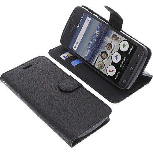 Tasche für Doro 8040 Book Style schwarz Schutz Hülle Buch