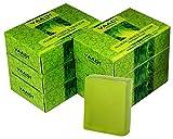 Vaadi Herbals Super Value Packung mit 6 Verführerische Neem & Tulsi Seife mit Vitamin E & Teebaumöl (6x75g)