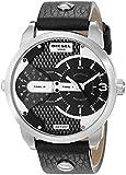 Diesel SUMMER 2014 DZ7307 46mm Stainless Steel Case Black Calfskin Mineral Men's Watch
