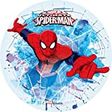 Aufleger Ø 21 cm - Spiderman Nr.2 - Oblate / Wafer