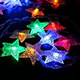 20 Led Star Shaped String Light Home Hotel Christmas Party Ball Wedding Holiday Event Decoration