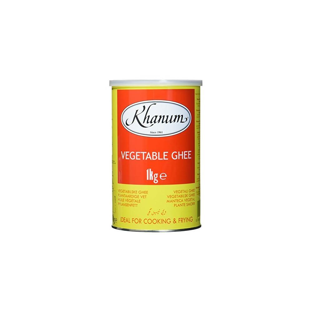 Khanum Pures Pflanzliches Ghee 1 Kg 4er Pack