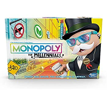 cab1a6653fb Hasbro E49891020 Gaming Monopoly for Millennials Board Game, Multi-Colour