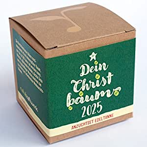 """Geschenk-Anzuchtset """"Dein Christbaum 2025"""""""