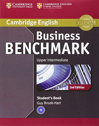 Business Benchmark Upper Intermediate Business Vantage Student's Book (Cambridge English) 2nd edition by Brook-Hart, Guy (2013) Paperback