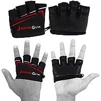 Preisvergleich für Ultra Greifer V1Gewichtheben Handschuhe von jasons Gear mit Kabelführung Gummierte Grip Palm und extra Polsterung für Komfort und Hornhaut Schutz. Geeignet für Gewichtheben, WOD, Crossfit, Kreuz Training, Fitness, Bodybuilding, Fitnessstudio.