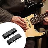 Broadroot Laiton 2pcs Mini micro Manche couvertures Coque en métal de cuivre pour TL Guitare électrique, noir