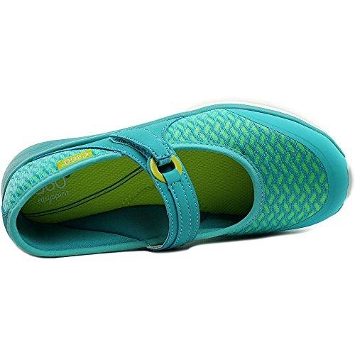 Easy Spirit e360 Mariel Large Toile Chaussure de Marche Turquoise