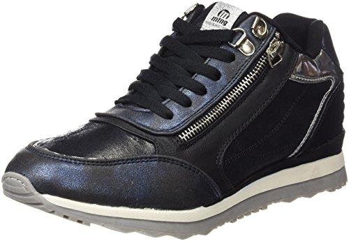 MTNG Attitude, Zapatillas para Mujer, Dorado (Santa Azul / Cosmo Negro), 38 EU