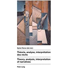 Théorie, analyse, interprétation des récits- Theory, analysis, interpretation of narratives
