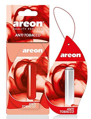 Deodorante per auto Areon liquido anti tabacco profumo ciondolo appeso a lunga durata Home 3D 5ml Confezione da 1