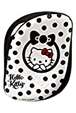 Tangle Teezer Compact Styler Haarbürste, Hello Kitty Schwarz, 1er Pack (1 x 1 Stück)