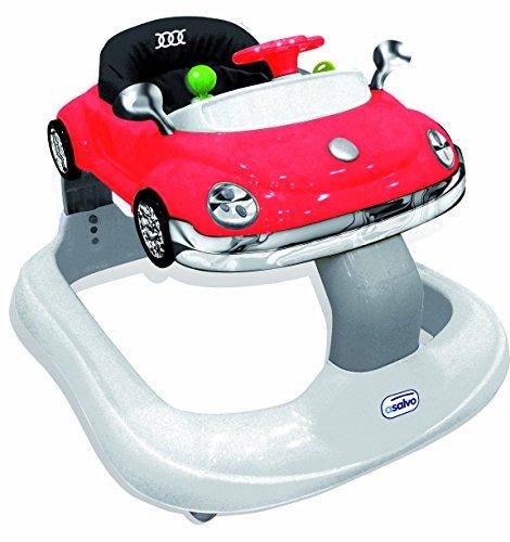Andador para bebé niño Asalvo Bugatti rojo