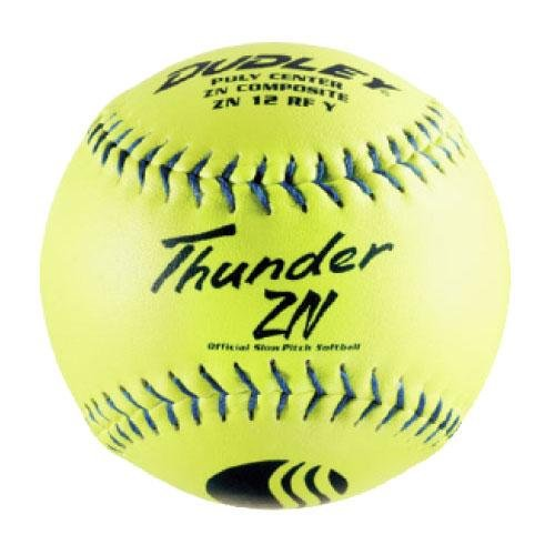 ZN Slow Pitch Softball - .47 COR - Stadion Stempel - 12 Pack ()