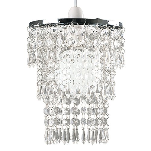 beautiful-modern-chrome-chandelier-pendant-shade-with-stunning-clear-acrylic-jewel-droplets