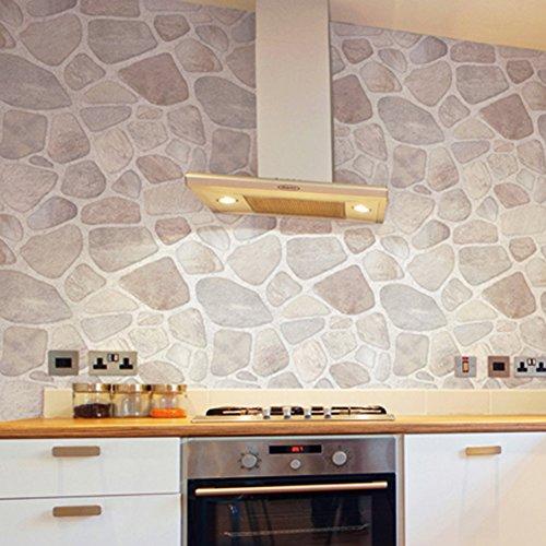 Küche Öl aufkleber,Pvc selbstklebende tapete Badezimmer wand aufkleber  Kühlschrank aufkleber-B 60x100cm(24x39inch)