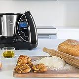 Cecotec Robot de Cocina Multifunción IronMix.  Capacidad de 3,3l, Temperatura hasta 120ºC, 12 Velocidades + Turbo, Programable hasta 60 min, Incluye Recetario, 1500W
