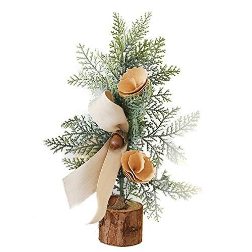 SANHOC Kiefer-Nadel-Bonsai mit Topf künstlicher Anlage/Blumen Hochzeit/Weihnachten Balkon Bonsai Winter Home Decor Supplies: c