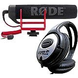 Rode VideoMic Go richt Tuyau de caméra Microphone + Casque keepdrum.