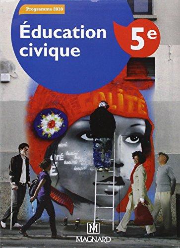 Education civique 5e : Manuel élève