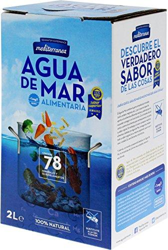 Mediterranea Agua de Mar Alimentaria en Envase de 2 Litros