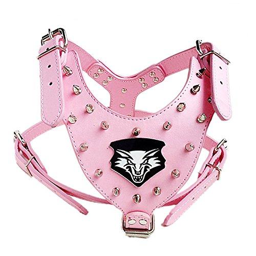 unihubys-wolf-head-decorazione-spiked-pu-cane-cablaggio-66-864-cm-grande-sul-petto
