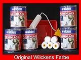 5 Dosen FLIESENLACK inkl. FARBROLLER WILCKENS weiß für 40 qm