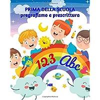 51HqzCcF-9L._AC_UL200_SR200,200_ PRIMA DELLA SCUOLA: pregrafismo e prescrittura: Libro di pregrafismo e prescrittura - Libro interattivo per bambini dai 4 ai 6 anni - Disegni, prescrittura e giochi