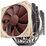 Noctua NH-D14, Premium CPU Kühler mit NF-P14 und NF-P12 Lüfter (Braun)