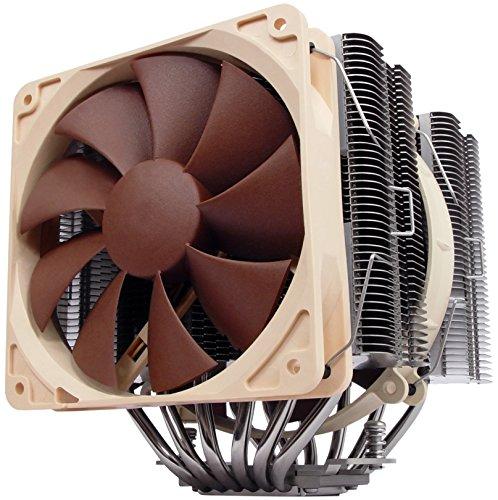 Noctua NH-D14, Premium CPU Kühler mit NF-P14 und NF-P12 Lüfter (Braun) (Lga775 Cpu Kühler)