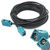 Adapter-Universe Antennen Adapter 6m Verlängerungskabel FAKRA Buchse auf FAKRA Buchse Z Antennenkabel RG 174 Auto für Universal
