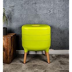 Design-Komposter, Komposter, Wurmkomposter (Hellgrün)