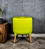 SUPERWURM Design-Komposter, Komposter, Wurmkomposter (Hellgrün)
