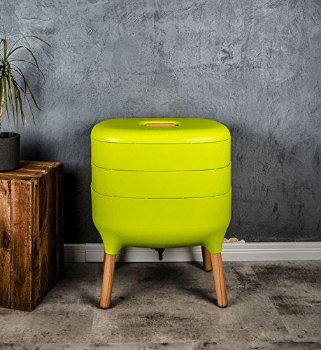 Design-Komposter, Komposter, Wurmkomposter – Komplettset