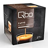 Qbo Kapseln - Caffè Estrada Paraíso (Kaffee, zart und karamellig, 100% Arabica) (8x27 Kapseln)