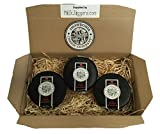 Snowdonia Cheese Company Hamper Containing 3, 200g Black Bomber Truckles
