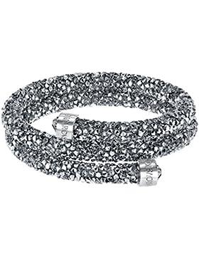 Swarovski Damen-Armreif Swarovski Crystaldust Bracelet Edelstahl Kristall silber Rundschliff   - 5255898