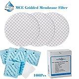Membrana soluzioni MCE fornitura laboratorio Gridded membrana filtro, diametro: 47MM, pori: 0.45micron, confezione da 100