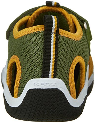 Grün Jr C green Yellowc3q2g top Jungen Geox dk Wader Low xOYUqq7F