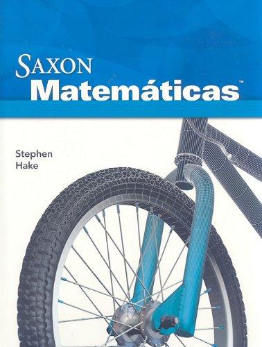 Saxon Math Intermediate 3 Spanish: Student Edition 2008