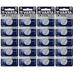 Varta 6032201401ProfessionalPile Bouton au Lithium CR2032