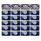 Varta Batterien Electronics CR2032 Lithium...