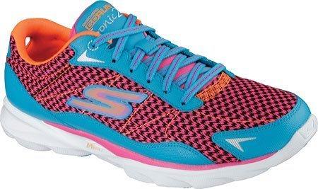 Skechers Schuhe 2Tun GOrun Sonic Women ', Blau/Rosa (Blau/Hot Pink) - Größe: 6.5 B(M) - Von Running Sketcher Schuhe Frauen