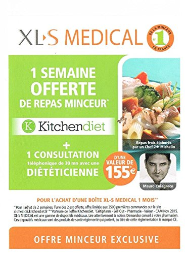 XLS Medical Extra Forte 120 cps + Offre Promo kitchendiet 1 Settimana di pasto offerta