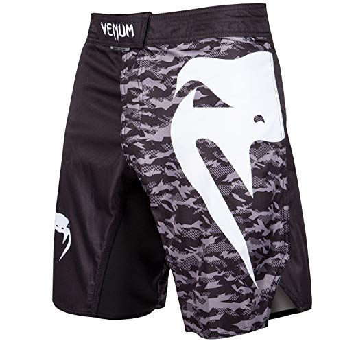 Venum Light 3.0 Fight Shorts - Black/Urban Camo Hombre